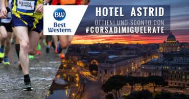 Pernottamento scontato grazie all'Hotel Astrid!
