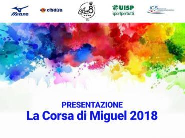 EMOZIONI A ROMA  Per la presentazione della Miguel 2018